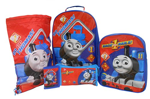 Thomas & Friends Set di valigie, blu (Blu) - THOMAS001169