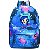 352 Its-Funneh Unisex Rucksack Neuheit Laptop Tasche Durable Reise Rucksäcke Schultasche für Männer und Frauen, blau, Einheitsgröße