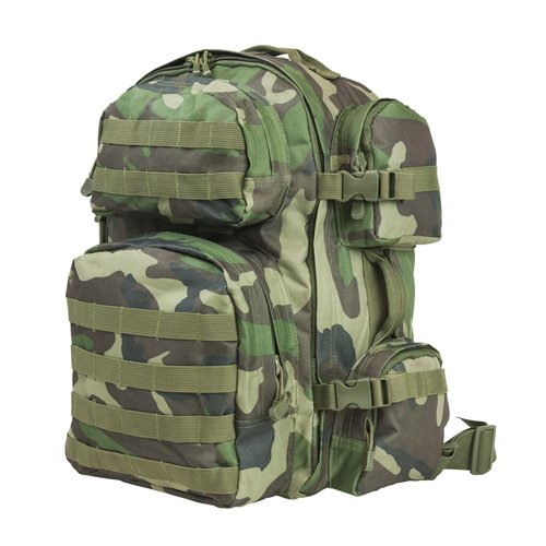 NcSTAR NC Star CBWC2911, Tactical Backpack, Woodland Camo