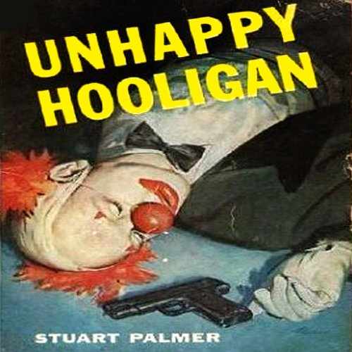 Unhappy Hooligan audiobook cover art