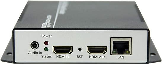 URayCoder HEVC H.265 H.264 HDMI Video Encoder IPTV Live Streaming Broadcast RTMP Encoder H.265 H.264 HD Video Audio Encoder for HDMI to RTSP RTMP M3U8 Multicast HTTP ONVIF etc