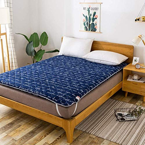 MWPO 4 Cm' Single Double Thickened Soft Tatami Futon Mattress, Portable Foldable Floor Mattress For Home Dormitory Outdoor-c 120x190cm(47x75inch)
