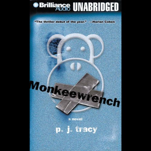 Monkeewrench audiobook cover art