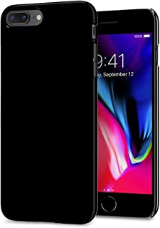 Spigen Thin Fit (2nd Generation) Designed for Apple iPhone 8 Plus Case (2017) / Designed for iPhone 7 Plus (2016) - Jet Black