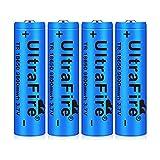 18650 Batería Recargable 3.7 9800 MAH Azul Litio...