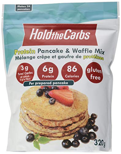 HoldTheCarbs Pancake and Waffle Mix with Protein, 320g