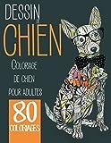 Dessin de chien: Coloriage de chien pour adultes