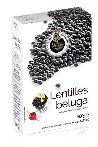 Beluga Linsen - Lentilles beluga, Kaviarlinsen schwarz 500 g