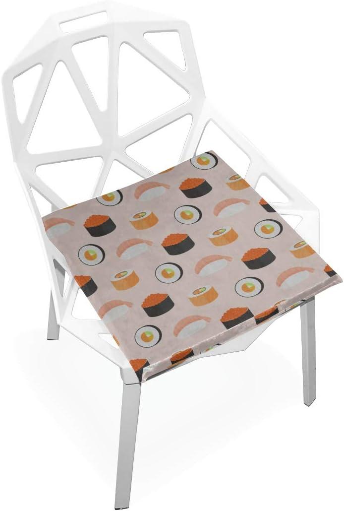 YUMOING Pads Denver Mall Chairs Cute Nippon regular agency Tasty Food Memory F Soft Non-Slip Sushi