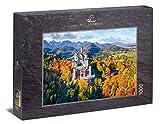 Ulmer Puzzleschmiede - Puzzle Neuschwanstein - Puzzle de 1000 Piezas - El Castillo de Cuento de Hadas Neuschwanstein, Castillo del Rey Luis II de Baviera