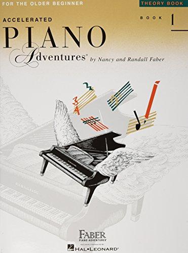 Accelerated Piano Adventures For The Older Beginner: Theory Book 1: Noten, Lehrmaterial, Technik für Klavier