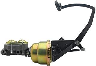 under floor brake pedal assembly