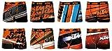 KTM Boxer para Hombre, Varios Modelos de Fotos según disponibilidad. Pack de 8...
