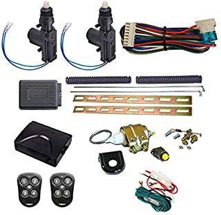 Megatronix CP500DK2T 2-Door Remote Control Door Lock Actuator Kit With Keyless Entry System And Trunk Release Solenoid