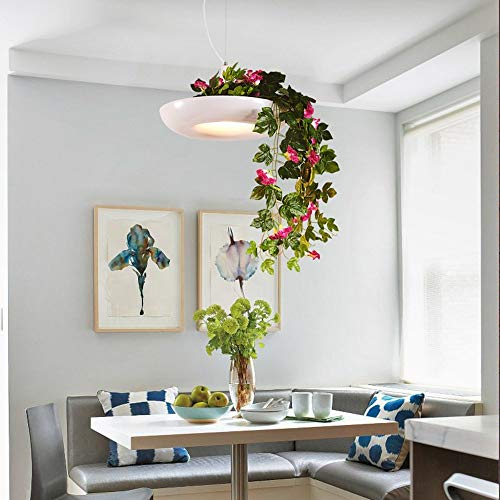 ZY Nordic Creative Air Garden potplanten bloempotten Iron Chandelier Restaurant Terrace Art Chandelier (kleur, stijl optioneel) (kleur: B)