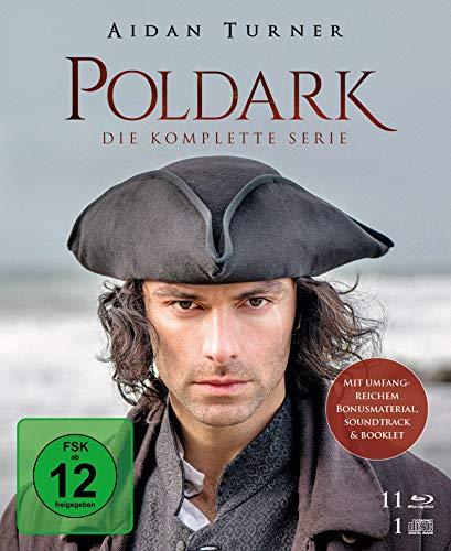 Poldark - Die komplette Serie [11 Blu-ray + 1 CD]