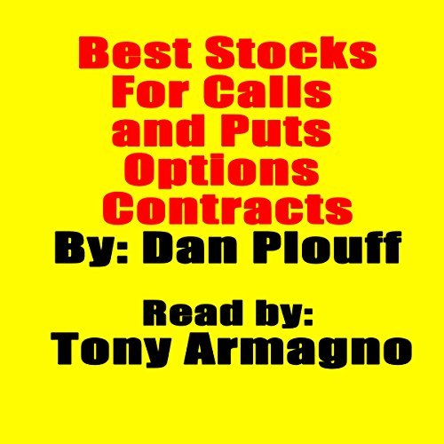 Best Stocks for Calls and Puts Options Contracts audiobook cover art