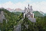Waniyin para Adultos 1000 Piezas Rompecabezas para Puzzle Creativo Puzzle Hormiga Mortz Muotta Muragl Suiza Juegos Infantiles Juguetes Juguetes educativos para