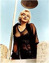 Some Like It Hot Marilyn Monroe In Mesh Dress Leaning On Pier 8 x 10 Photo