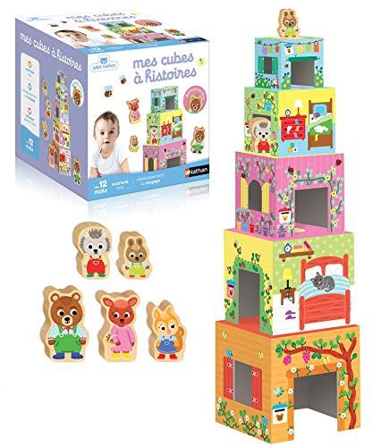 Nathan - 31438 - Mes cubes à histoires