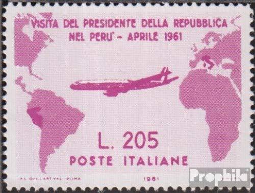 Prophila Collection Italia Michel.-No..: I ND (Completa Edizione) Gronchi Rosa, privato Riproduzione 1961 Südamerikaflug Gronchis (Francobolli per i Collezionisti) Aviazione