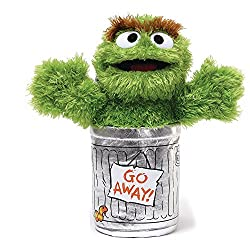 Image: GUND Sesame Street Oscar The Grouch Stuffed Animal