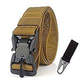 Militar táctico cinturón de mezclilla de los hombres Militar Nylon hebilla magnética cinturón al air...