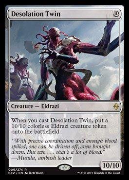 Magic The Gathering - Desolation Twin (006/274) - Battle for Zendikar