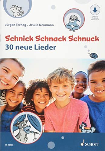 Schnick Schnack Schnuck: 30 neue Lieder. Gesang. Schülerheft.
