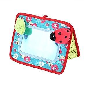 Floor Mirror Beb/é Espejo de Seguridad Cochecito Pedant Toys Ni/ños Juguetes educativos tempranos Zerodis Espejo de Seguridad con Colgante para Cuna o Carrito de beb/é
