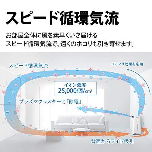 シャープ加湿空気清浄機プラズマクラスター25000ハイグレード13畳/空気清浄23畳2019年モデルホワイトKI-LS50-W