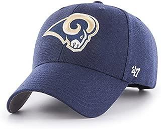 '47 Men's Los Angeles Rams NFL MVP Adjustable One Size Hat