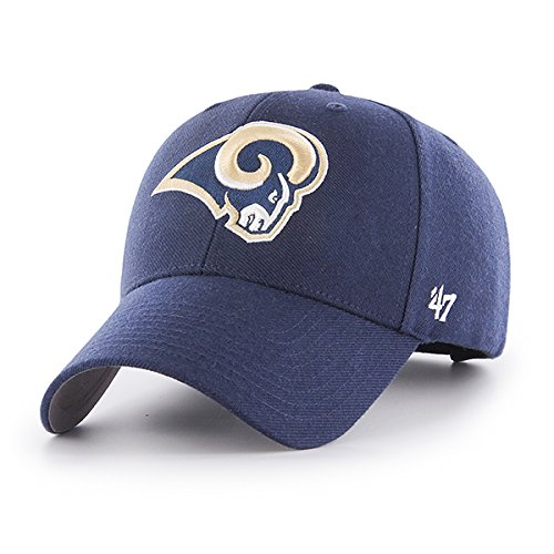 86982b5e52f7ba '47 Men's Los Angeles Rams NFL MVP Adjustable One Size Hat. '