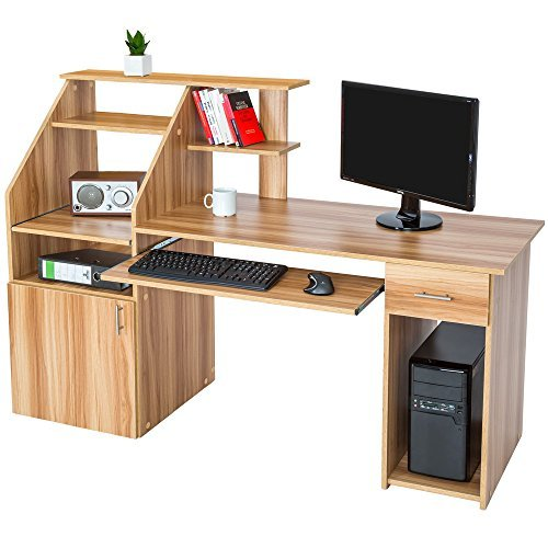 Computer Desks with Storage: Amazon co uk