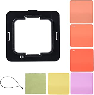 Xingsiyue Neutral Density Polarizer Filter for DJI Osmo Action ND4+ND8+ND16+CPL Protective Lens Multi-Layer Optical Glass Waterproof Filter Pack of 4