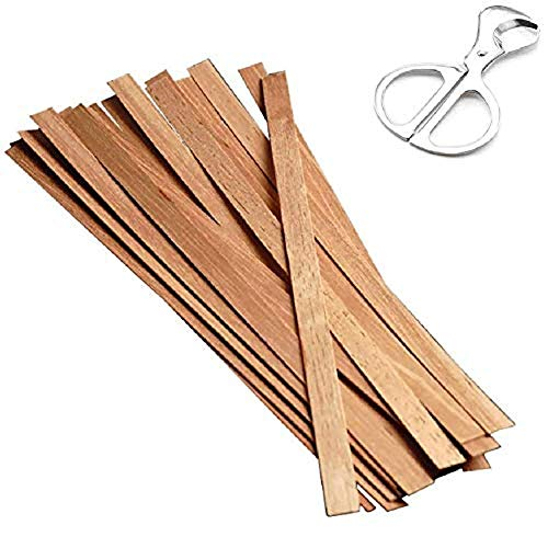 LFLYBCX Cigar Stick with Cigar Cutter, 20 Sticks Cigars Matches Cedar Spills Cigar Lighter Strips Cedar Wood Strips,Reserve The Original Cigar Sticks