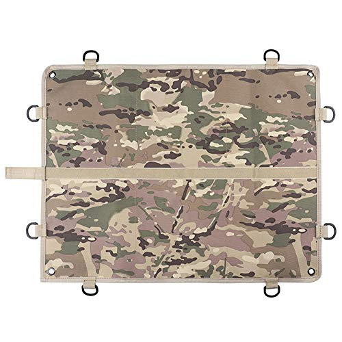 huishi Tactical Military Patch Holder Board Morale Patch Panel Velcro...