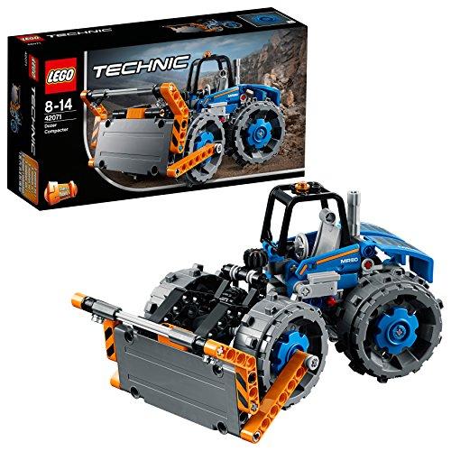 LEGO Technic - Bulldozer Compactador, Juguete de Construcci