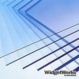 PETG Thermoform Plastic Sheets 0.020' x 12' x 18' Sheets - 8 Piece Bundle