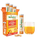 Nutrainix Charge Vitamin C supplements antioxidant 1000 mg -(Pack of 3) Natural Amla