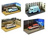 OPO 10 - Lot de 4 Camionnettes Citroen : CX HY ID19 Voitures Utilitaire des Artisans 1/43 (04-07-20-18)