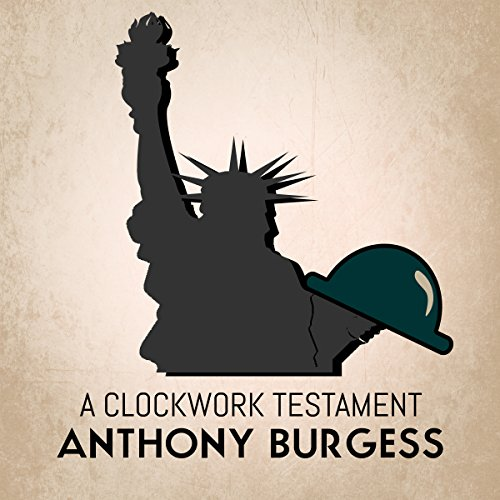 A Clockwork Testament audiobook cover art