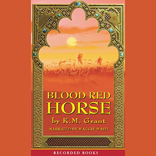 Blood Red Horse audiobook cover art