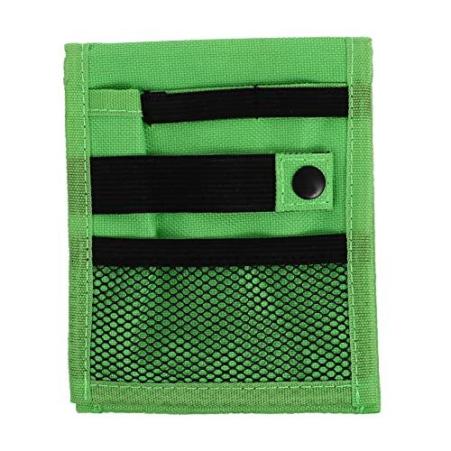 Lurrose Hemdtasche aus Oxford-Stoff, Stift-Organizer für auslaufende Stifte, geeignet für Hemden, Laborkittel, Krankenschwestern, Ärzte, Mäntel, grün (Grün) - 21ZE51OLKFO19Q7U6X