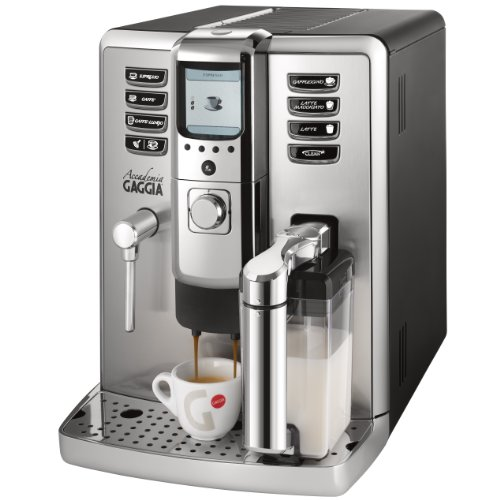 Gaggia 1003380 Accademia Espresso Machine,Silver