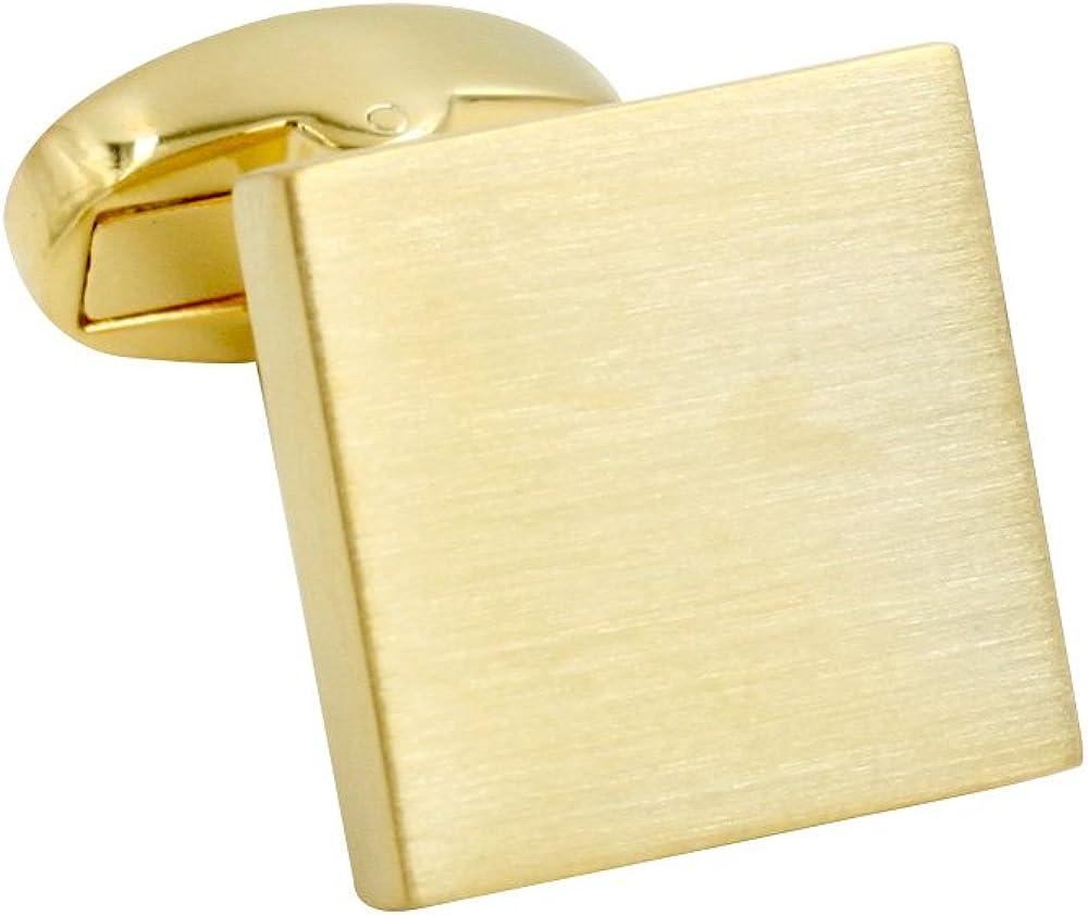 Gold Cufflinks | Premium Cuff Links | Cufflinks Box Included | Gift for Men Cuffelinks