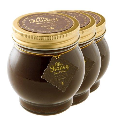 ハニーショコラ チョコレート ハニーとチョコペーストミックス 200g マイハニーシリーズ 産地直送 3瓶