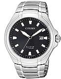 Citizen Reloj Analógico para Hombre de Cuarzo con Correa en Titanio BM7430-89E