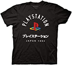 Ripple Junction Playstation Adult Unisex Japan 1994 Light Weight 100% Cotton Crew T-Shirt