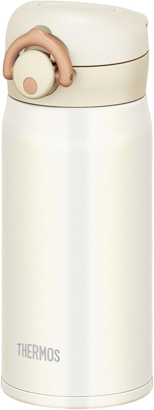 参加するサスティーン判決サーモス 水筒 真空断熱ケータイマグ 【ワンタッチオープンタイプ】 350ml クリームホワイト JNR-350 CRW